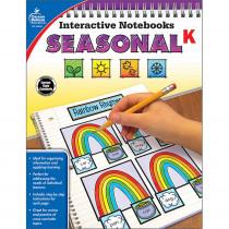 CD-105019 - Interactive Notebooks Seasonal Gr K in Cross-curriculum Resources