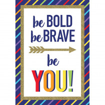 CD-106003 - Be Bold Be Brave Be You Sparkle And Shine in Motivational