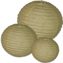 CD-107002 - Kraft Paper Lanterns in Accents