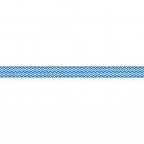 CD-108241 - Super Power Blue Chevron Straight Borders in Border/trimmer