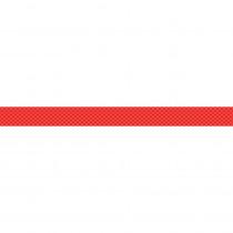 CD-108242 - Super Power Red Lattice Straight Borders in Border/trimmer