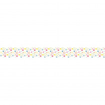 CD-108261 - School Pop Mixed Stars Straight Border in Border/trimmer