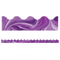 CD-108375 - Purple Marble Scalloped Borders in Border/trimmer