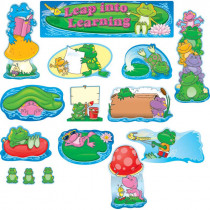 CD-110041 - Frogs Mini Bulletin Board Set in Classroom Theme