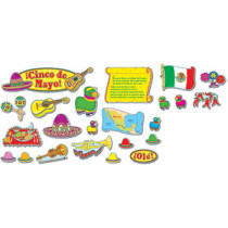 CD-110056 - Cinco De Mayo Bb Sets Pk-5 Mini Seasonal in Multilingual