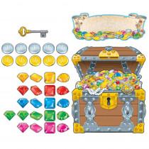 CD-110098 - Big Treasure Chest Bulletin Board Set in Motivational