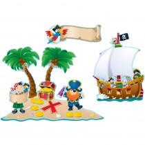 CD-110133 - Pirates Bulletin Board Set in Classroom Theme