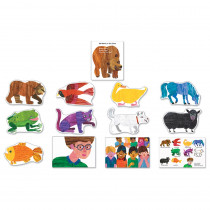 CD-110134 - Brown Bear Bulletin Board Set in Classroom Theme
