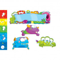 CD-110151 - Monsters Bulletin Board Set in Classroom Theme