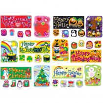 CD-110180 - Holidays Bulletin Board Set in Holiday/seasonal