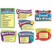 CD-110183 - Traits Of Good Writing Bulletin Board Set in Language Arts