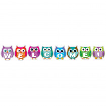 CD-110192 - Colorful Owl Welcome in Classroom Theme