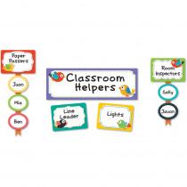 CD-110297 - Boho Birds Classroom Management Bulletin Board Set in Miscellaneous
