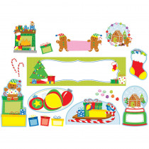 CD-110307 - Holiday Fun Mini Bulletin Board Set in Holiday/seasonal