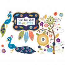 CD-110318 - You-Nique Strut Your Stuff Bulletin Board Set in Motivational