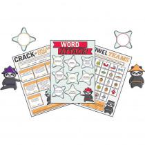 CD-110343 - Word Attack Bulletin Board Set Gr 1-5 Curriculum in Language Arts