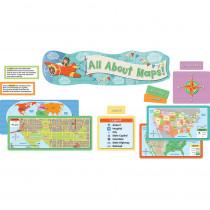 CD-110349 - All About Maps Mini Bb Setgr K-3 in Social Studies