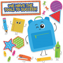CD-110355 - We Have Tools To Succeed Bb Gr Pk-2 Decorative Set in Motivational