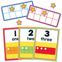 CD-110378 - Numbers 0-20 Bulletin Board Set in Math
