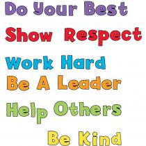 CD-110380 - Positive Sayings Bulletin Board Set in Motivational