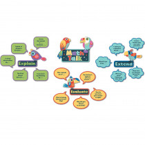CD-110388 - Math Talk Mini Bulletin Board Set in Math