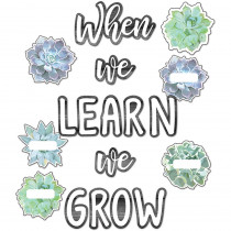 CD-110410 - When We Learn We Grow Bb St Simply Stylish in Classroom Theme