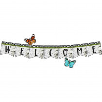 CD-110425 - Welcome Bulletin Board Set Woodland Whimsy in Classroom Theme