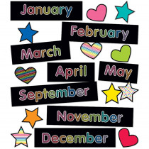 CD-110431 - Months Of The Year Mini Bb St Just Teach in Classroom Theme