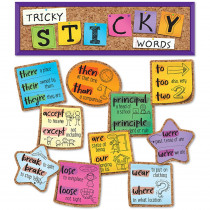 CD-110447 - Tricky Sticky Words Mini Bb St in Classroom Theme