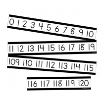 Simply Boho Number Line Mini Bulletin Board Set - CD-110508 | Carson Dellosa Education | Number Lines