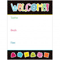 CD-114207 - School Pop Welcome Chartlet in Classroom Theme