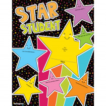 CD-114233 - Star Student Chartlet Gr Pk-5 Year Round in Motivational