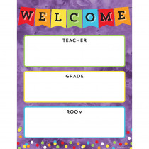 CD-114238 - Celebrate Learning Welcome Chart in Classroom Theme