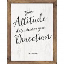 CD-114253 - Industrial Chic Your Attitude Chart Determines School Girl Style in Inspirational