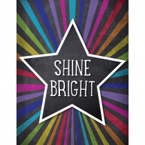 CD-114254 - Stars Shine Bright Chart School Girl Style in Inspirational