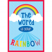 CD-114262 - World Is Your Rainbow Chart Hello Sunshine in Motivational
