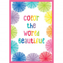 CD-114263 - Color The World Beautiful Chart Hello Sunshine in Motivational