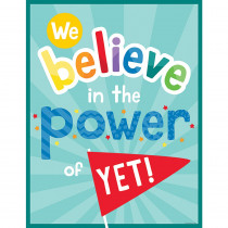 CD-114282 - We Believe In The Power Of Yet Chrt in Motivational