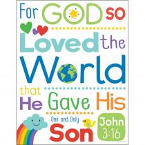 CD-114288 - John 3:16 Chart in Motivational