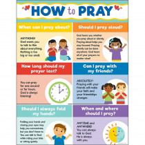 CD-114292 - How To Pray Chart in Motivational