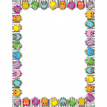 CD-118117 - Colorful Owls Computer Paper in Design Paper/computer Paper
