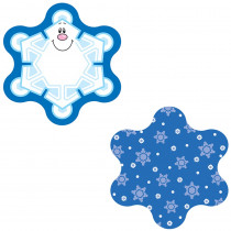 CD-120032 - Mini Cut Out Snowflakes Single Design in Holiday/seasonal