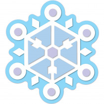 CD-120100 - Snowflake Accents in Holiday/seasonal