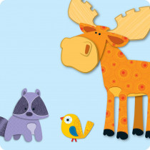 CD-120131 - Moose & Friends Mini Cut Outs in Accents