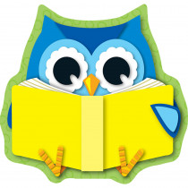 CD-120134 - Reading Owl Mini Cut Outs in Accents