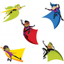 CD-120185 - Super Power Super Kids Cut Outs in Accents