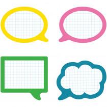 CD-120208 - School Pop Speech Bubbles Cut Outs in Accents