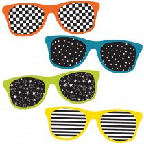 CD-120210 - School Pop Sunglasses Cut Outs in Accents