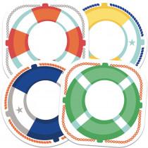 CD-120517 - Life Preservers Cutout Asst Gr Pk-5 in Accents