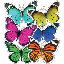 CD-120566 - Woodland Whimsy Butterflies Cutouts in Accents